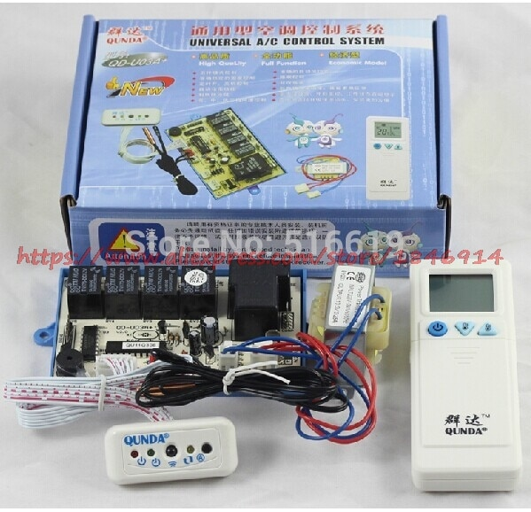 95% new good working for air conditioning computer board kfr 35gw ed e47a e27a e21a 47 1 27 1 21 1 display board QD-U03A+ Hanging air conditioner general computer board / double probe / heating / air conditioning control board