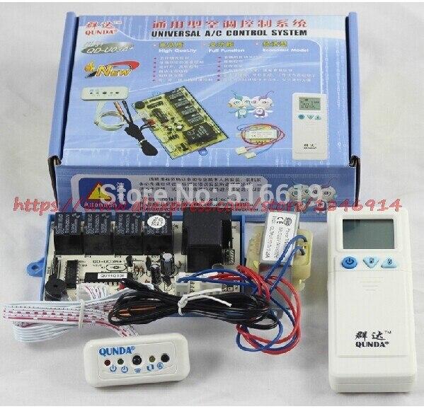 QD-U03A + pendurado ar condicionado placa de computador geral/sonda dupla/aquecimento/placa de controle de ar condicionado