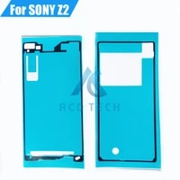 AAA Neue Front LCD Rahmen Batterie Abdeckung Volle Set Wasserdicht Klebstoff Aufkleber fur Sony Xperia Z2 L50W