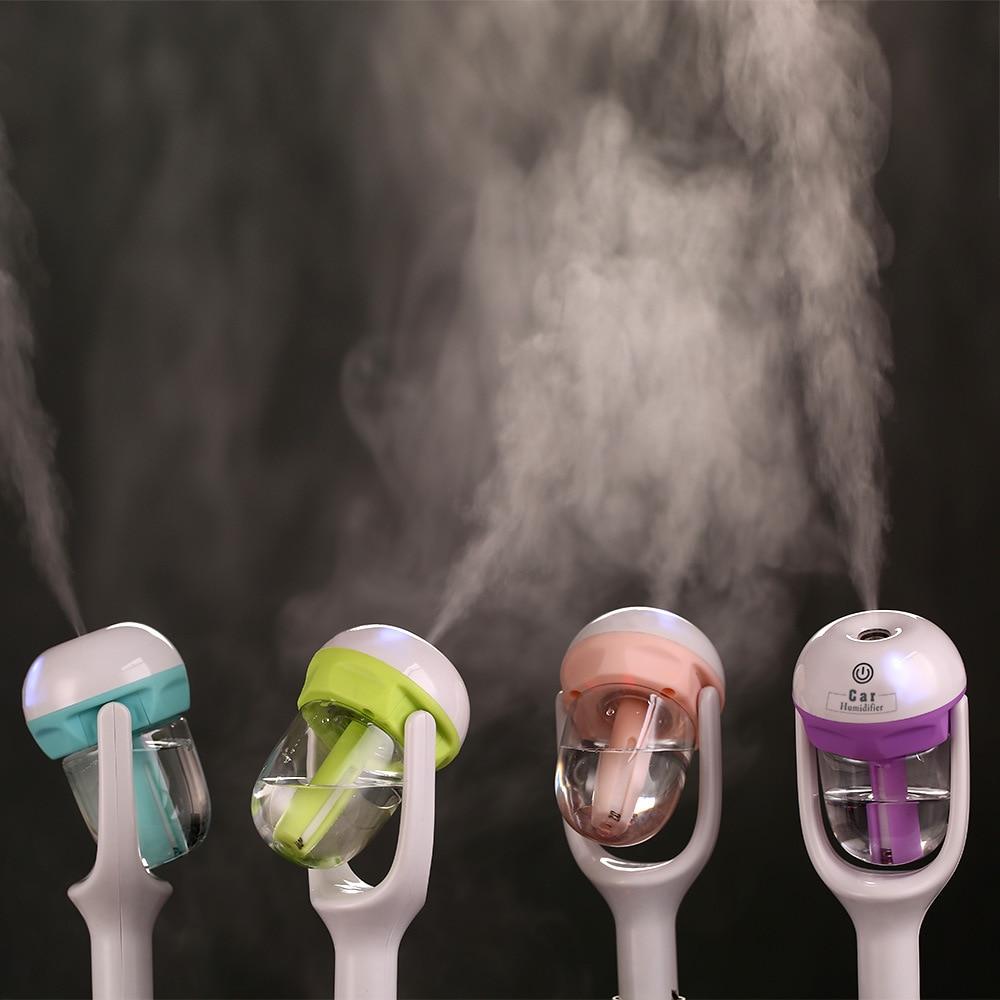 Mini humidificador Nanum para coche, difusor de aceites esenciales, aromaterapia, humidificador de aire portátil para coche, purificador de niebla fresca para coche