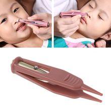 Baby Taschenlampe Dig Booger Clip Kleinkinder Sauber Ohr Nase Nabel Sichtbar Sicherheit Pinzette Sicher Zange Reinigung Liefert Gesundheit Pflege