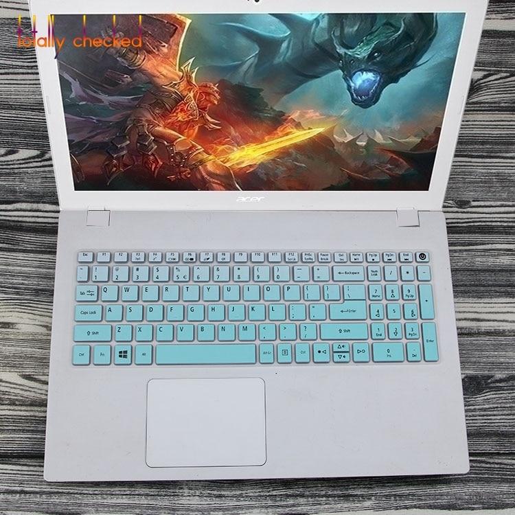 Для Acer Aspire E15 E5-575 E5-576G E5-573G ES15 ES1-572/Aspire E 17 E5-772G 15,6 дюймов Силиконовая Защитная крышка для клавиатуры
