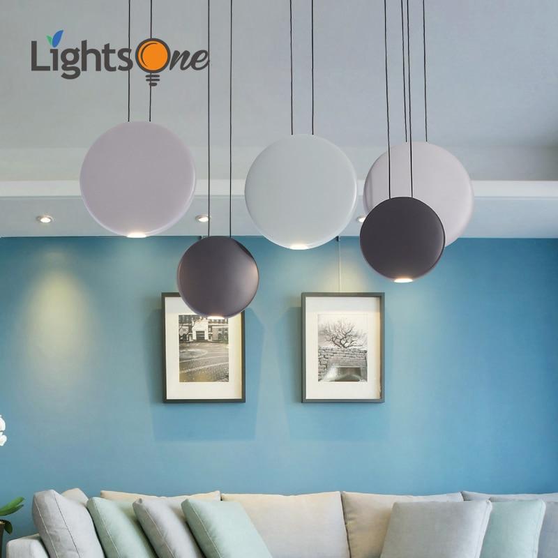 ما بعد الحداثة الفن مصباح معلق مصمم لإضاءة المطاعم الشمال بسيط طاولة طعام السرير السرير ثلاثة قضبان مدورة كوزموس قلادة أضواء
