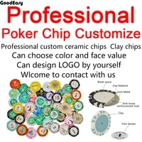 customize clay crown poker chip with high quality design logo and denomination and color by yourself