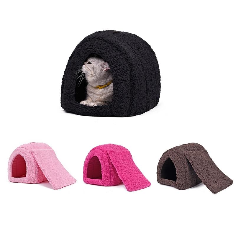 PAWZRoad, cama de verano para gatos, casa para mascotas, casa para gatos bonita, alfombrillas para cachorros, alfombrillas fáciles de llevar, productos para mascotas para animales