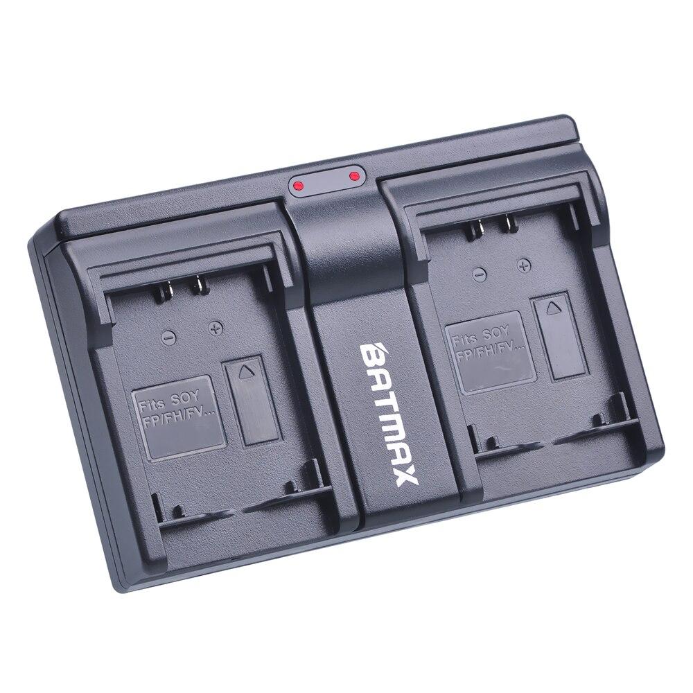 Batmax камера Dual USB зарядное устройство для NP-FH100 NP-FV100 FV100 NP FV100 Sony DCR-DVD103 XR100 HDR DCR серии HDR-XR550/E HDR-XR350