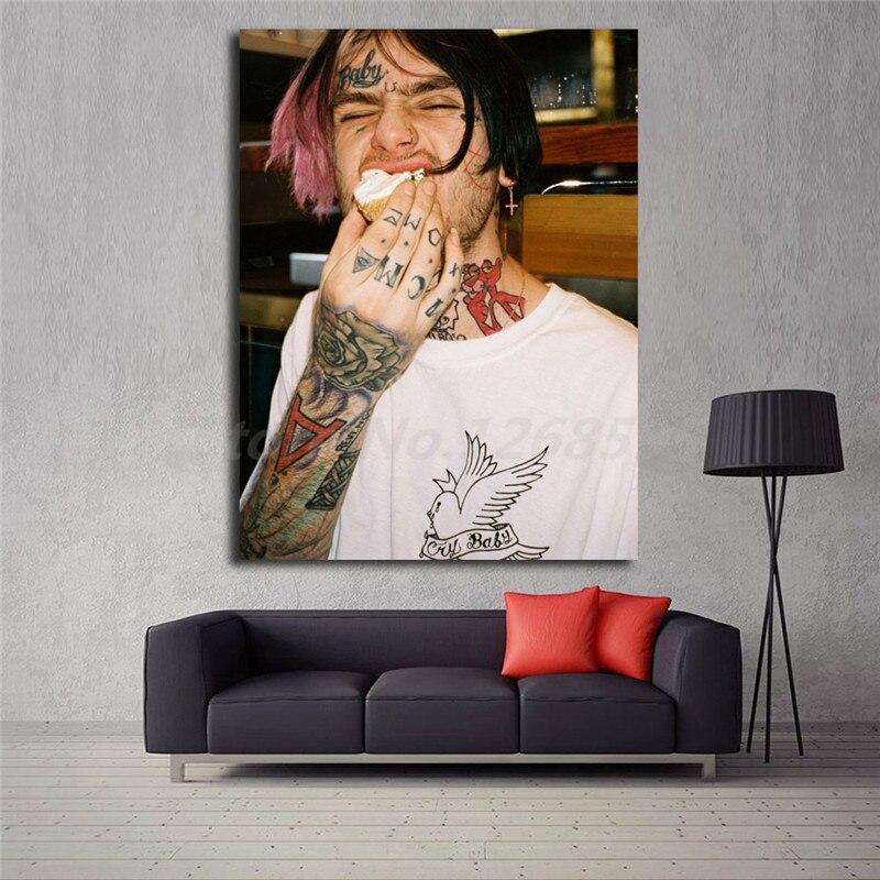 Lirio Peep mano brazos tatuajes cuadros lienzo pintura impresión Sala hogar decoración moderna pared arte pintura al óleo cartel Arte