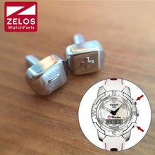 Montre signe plus et moins signe poussoir pour Tissot T-TOUCH COLLECTION T33 montre push bouton