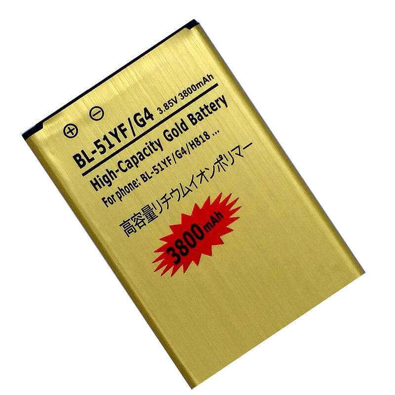 BL-51YH Сменный аккумулятор для LG G4 H818 H815 H810 VS999 F500 H819 F500S F500K F500L H811 V32
