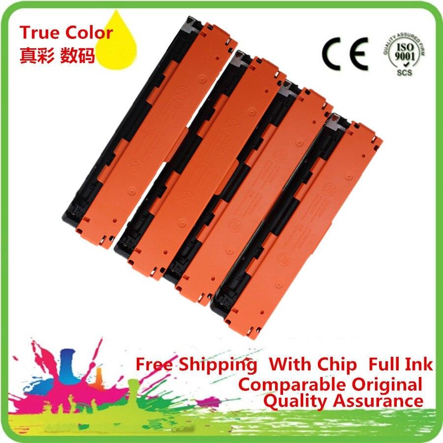 ZCA cartucho de tóner CF210 CF210A 210A CF211A CF212A CF213 reemplazo para LaserJet Pro 200 M251n M251nw 200 MFP M276n M276nw