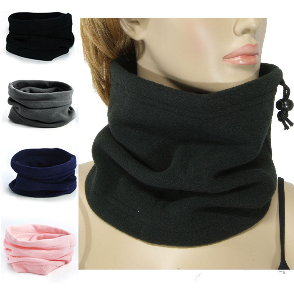 3 in 1 Multifunctional Scarf Unisex Men Women Polyester Thermal Snood Hat Neck Warmer Scarf Beanie Balaclava Gifts