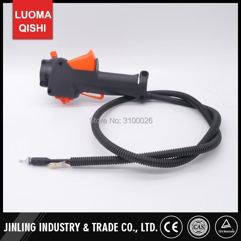 BG430 interruptor de acelerador manija derecha para knapsack cepillo cortador recortadora de hierba con mochila piezas