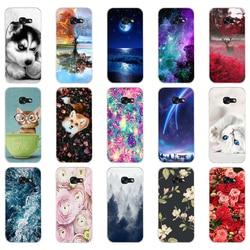 B para samsung a5 2017 caso macio silicone caso do telefone para samsung galaxy a5 2017 SM-A520F capa fundas para samsung galaxy a5 2017