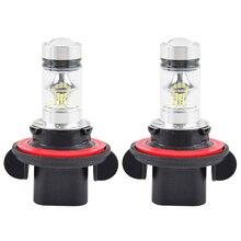12 V 100 W Scheinwerfer Weiß Led-lampen Licht Lampe Für Polaris Ranger 570 800 900 XP800/900 RZR SCRAMBLER 500 850 Outlaw 450 525