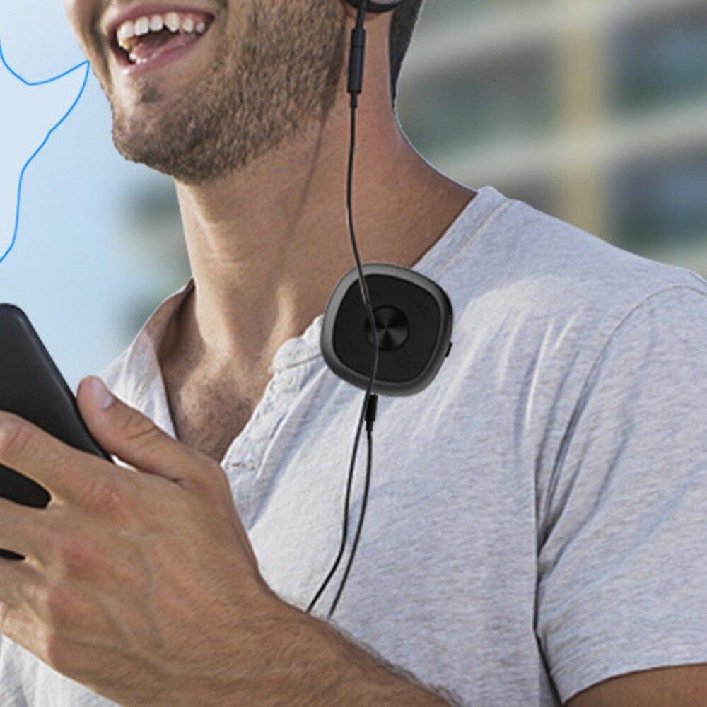 Bluetooth V5.0 receptor adaptador de Adaptador USB Bluetooth transmisor de 10 m de largo alcance Adaptador de Audio 7/8 horas A2DP/AVRCP/ HSP 5VDC