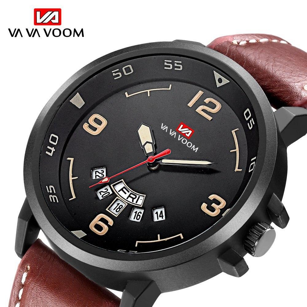 Mode Herren Uhren Top-marke Luxus Männer der Kalender Woche Display Wasserdichte Sport Quarz Armbanduhr Dropshipping reloj hombre