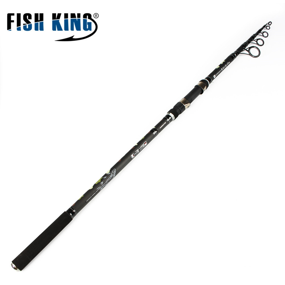 FISH KING Carp Fishing Rod 99% Carbon Standard 3.6m3.9m Contraction length 6 Secs Actual Weight 272G C.W 3.0/3.5LBS PechePesca