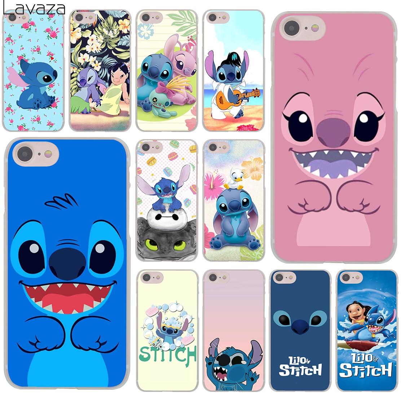 Lavaza Lilo & Stitch розовый постер жесткий чехол для телефона iPhone XR X 11 Pro XS Max 8 7 6 6S 5 5S SE 4S 4 10