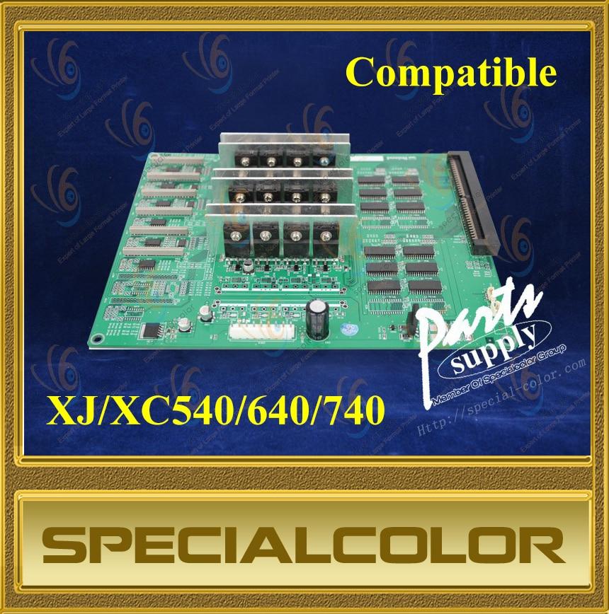 Placa de cabezal para impresora Roland XJ/XC540/640/740