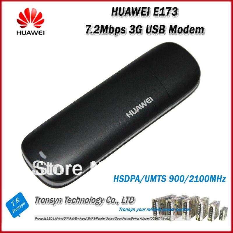 Brnad nuevo Original desbloquear HSDPA 7.2 Mbps HUAWEI E173 3 G módem USB y HUAWEI 3 G Dongle USB