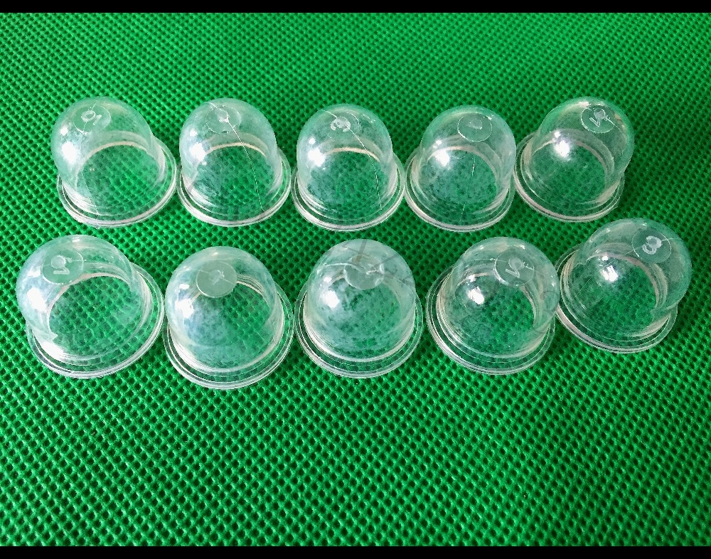 10 Uds Primer bombillas bomba para Homelite eco Ryobi Poulan Stihl FS38 FS45 FS46 FS55 FS55R FS72 FS80 FS85 FS87 de Trimmers