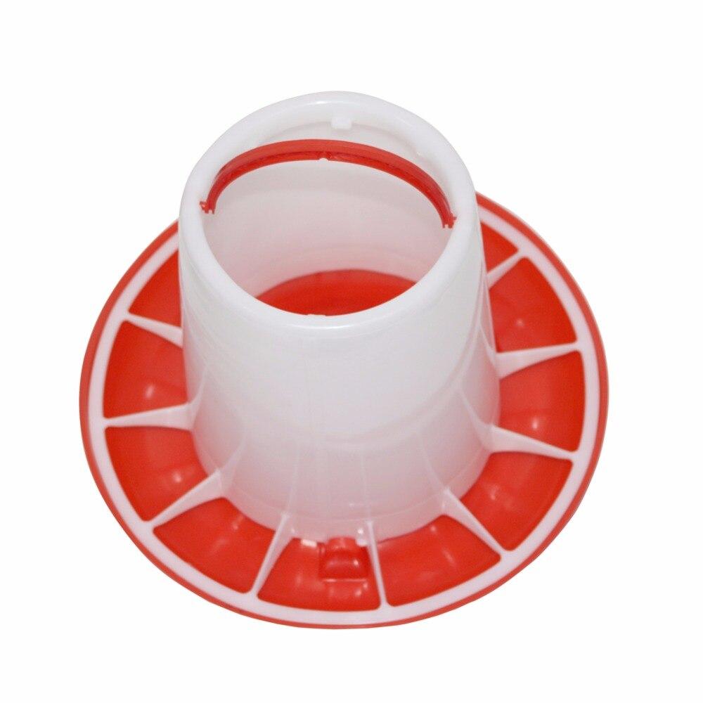 Huhn ausrüstung großhandel 2 sets Automatische feeder 3kg Vogel lebensmittel container Geflügel trinken Große zugeständnisse Kostenloser versand