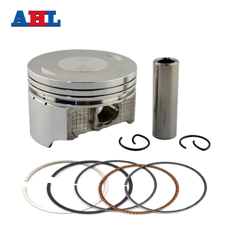 Piezas de motor de motocicleta STD ~ + 50 Tamaño del diámetro del cilindro 65,5 ~ 66 mm pistones y anillos para Honda SL230 1997-2008 XR230 03-08 CRF230 03-14