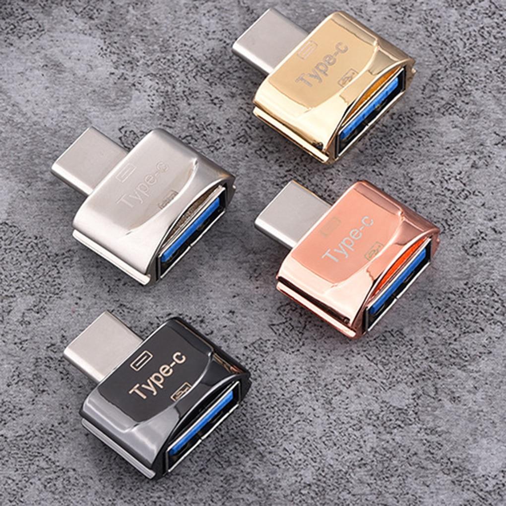 New Arrival Mini High Transmission Speed USB 3.1 Phone Camera TF Memory Card Reader OTG Adapter Type-c Port