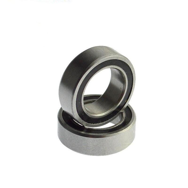 Alta calidad 10 Uds ABEC-5 MR106-2RS MR106 2RS MR106 RS MR106RS 6x10x3mm caucho sellado miniatura rodamiento rígido de bolas