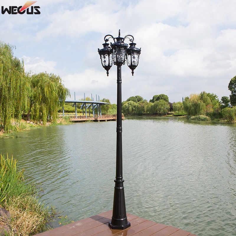 (H≈2.6M)Villa home outdoor garden light park community landscape street project lighting street lamp enlarge