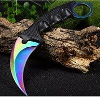 Многофункциональный нож CSGO, тактический керамбит для выживания на природе, кемпинга, охоты, counter strike