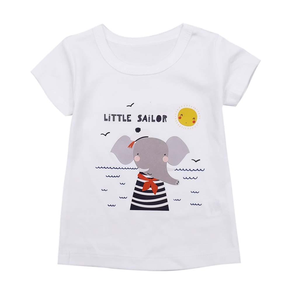 New summer children's clothing boy T-shirt printing short-sleeved cotton children's T-shirt O-neck T-shirt shirt boys