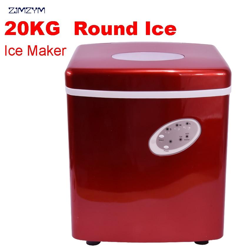 1 шт., новый HZB-15A, коммерческая машина для льда, высокоэффективный компрессор, холодильное оборудование, Круглый лед, домашняя машина для льд...