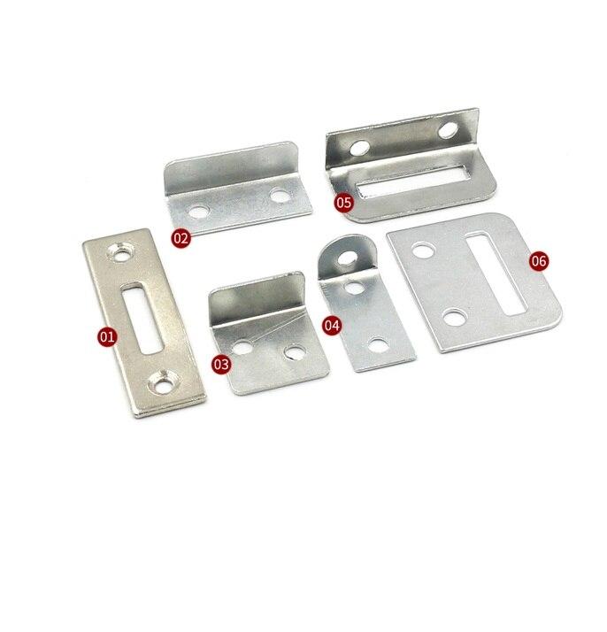 20 unids/lote Premintehdw armario cajón cerradura Strike Plate reemplazo