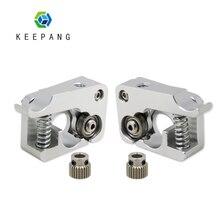 MK10 Remote Direkten Extruder Aluminium Teil J-kopf Extrusion Rechts Links Hand Arm Voller Metall Bowden 3D Drucker Extruder