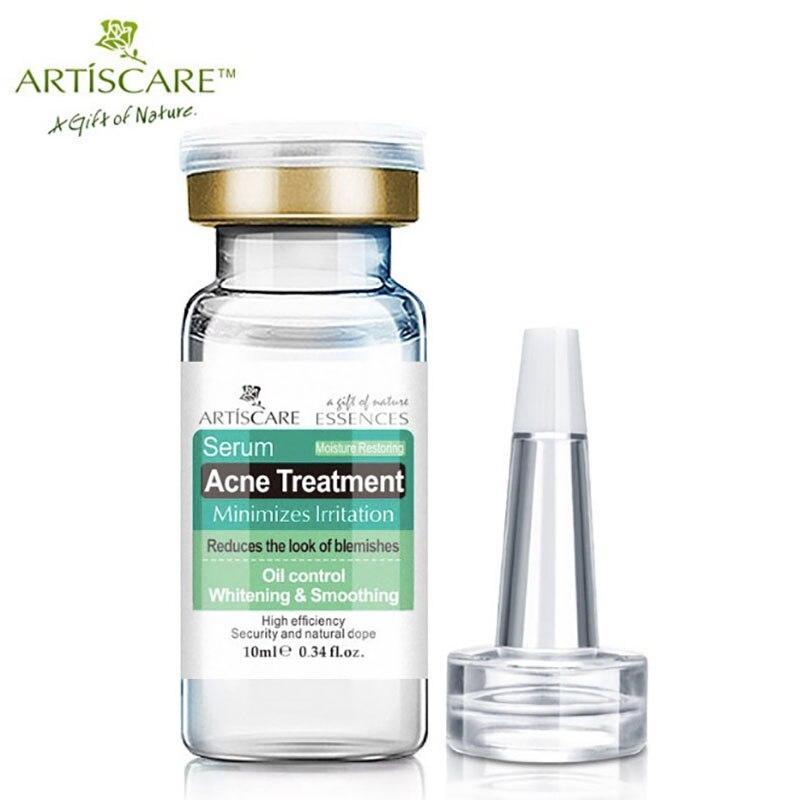 Tratamiento de acné suero esencia para el rostro Anti cicatriz de acné crema de eliminación de cara cuidado de la piel reparación blanqueadora removedor de espinillas para el acné