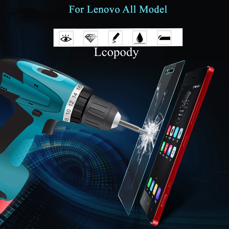 Premium tempered glass FOR lenovo a2800 a1010 a1010a20 k10a40 z2121 z 2121 s1la40 p2a42 p2c72  p1c72 p1a42 p1c58 c58 c72 z90a40