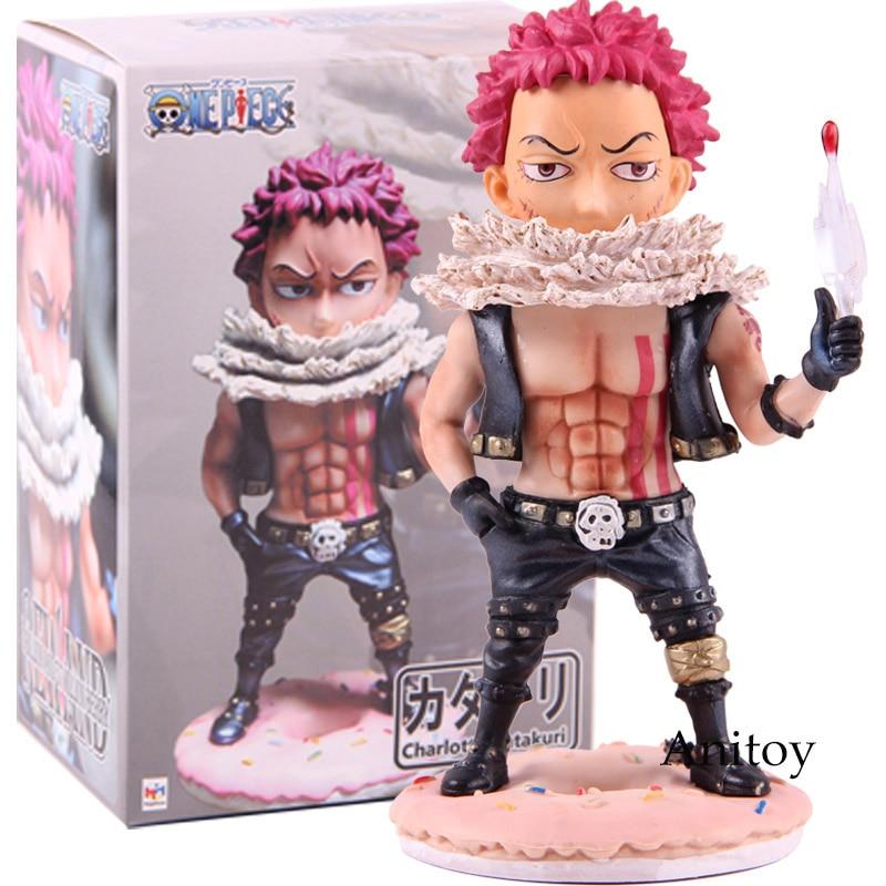 Anime One Piece P.O.P retrato de piratas Charlotte Katakuri figura de acción PVC juguete de modelos coleccionables