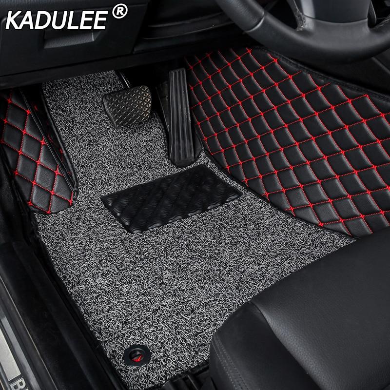 KADULEE car floor Foot mat For chevrolet sonic epica aveo sail captiva 2008 car accessories waterproof carpet rugs
