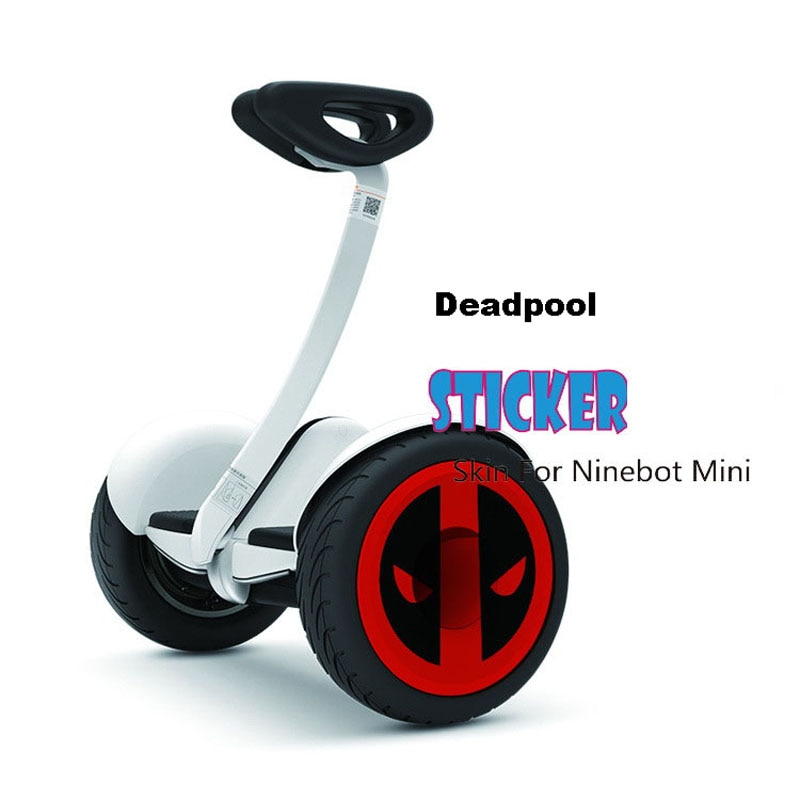 Xiaomi Mini Scooter Skin Decorative Sticker Wheel Hub Paster Waterproof Wheel Cover Sticker for Xiaomi Mini Electric Scooter