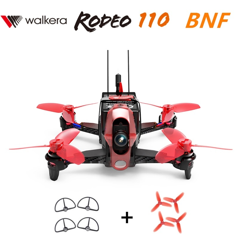 Walkera Rodeo 110 Brushless Racing Drone BNF2 without Remote controller with 600TVL Camera (Get Free