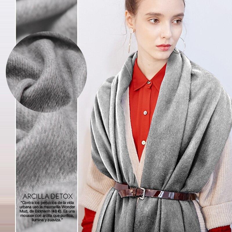 Engrosada denim tela de lana de otoño e invierno abrigo, lana para ropa tejidos venta al por mayor de alta calidad Paño de lana