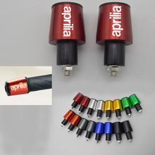CNC 22MM Handlebar Grips Handle Bar Cap End Plugs for Aprilia Rs 125 1000 R 2000 250 50 Rx50 650 750 200 500 Rs 250 Fairing Kit