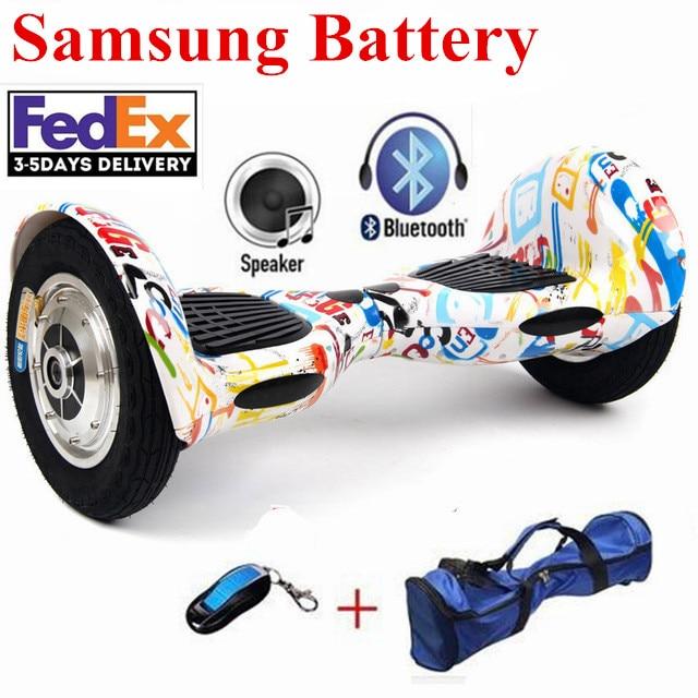 Aeropatín eléctrico inteligente de 10 pulgadas, dos ruedas, 700W, con Bluetooth