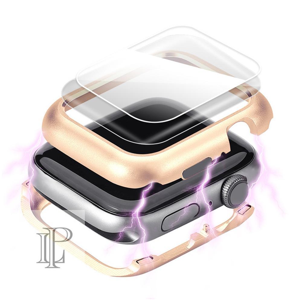 Магнитный чехол для Apple Watch, чехол для Apple watch 5 4 3 44 мм/40 мм iwatch band 5 42 мм/38 мм, Защитное стекло для экрана