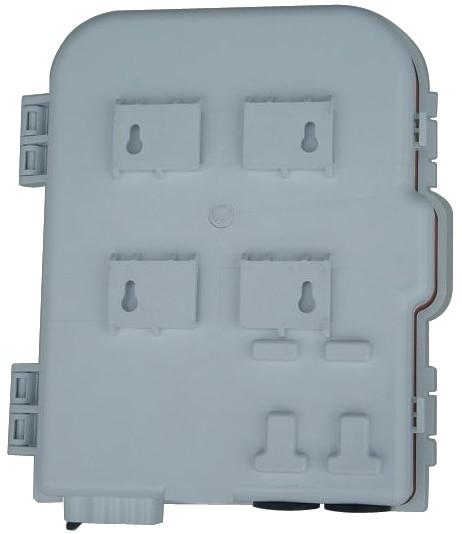 FTTH 8 cores fiber Termination Box 8 port 8 channel Splitter Box indoor outdoor fiber Optical Splitter Box FTB ABS enlarge