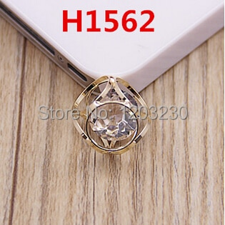 New Alloy gold-color Hollow Round Zircon core Three-dimensional jewelry Crystal charms diy earring/necklace/bracelet decoration