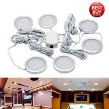 Lampe de plafond de cabine   6 pièces, plafonnier de cabine, lampe de camping Car voiture RV, lumière blanche fraîche 6500K