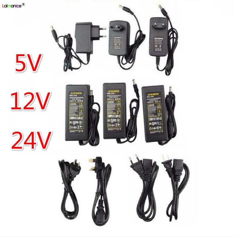 Адаптер питания для светодиодных лент, трансформаторы для освещения, источник питания 5 В, 12 В, 24 В постоянного тока, 1 А, 2 А, 3 А, 4 а, 5 А, 6 А, 8 А, 10 А Трансформаторы систем освещения      АлиЭкспресс