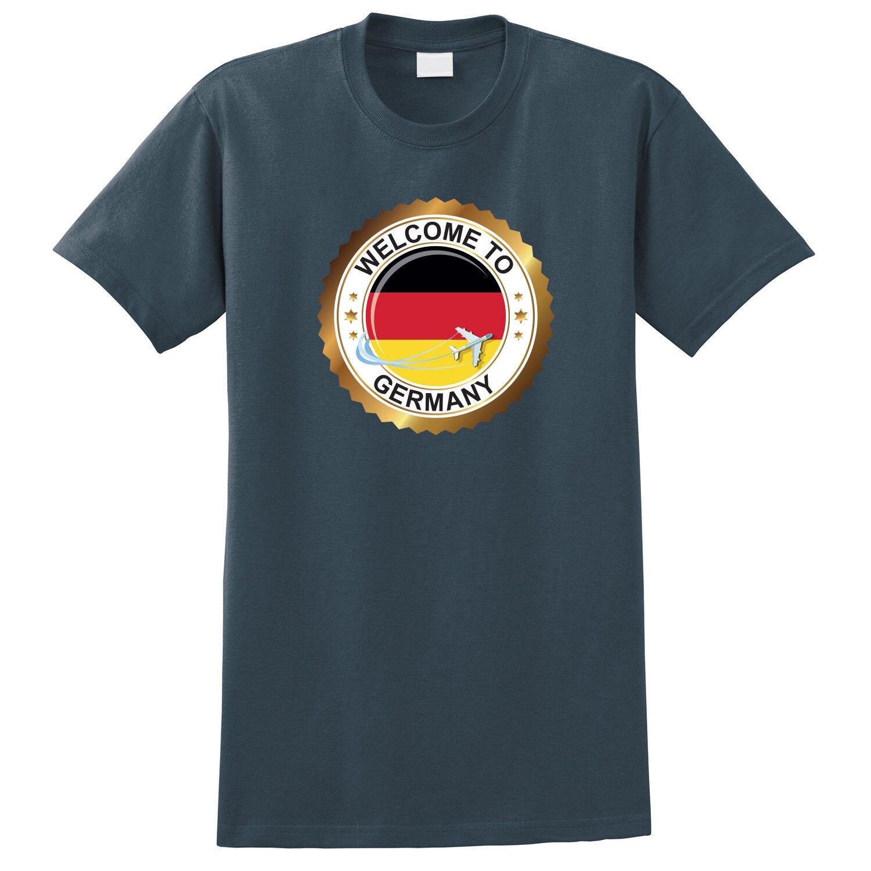 2019 Camiseta Hombre 100% algodón bandera alemana Soccerer Ball Print t-shirtmens camisetas